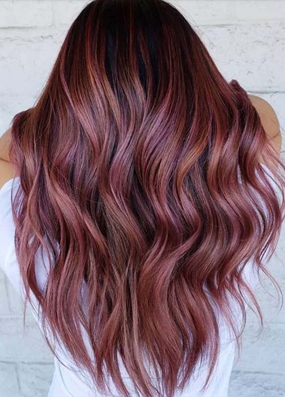 Best Rose Gold Hair Colors and Hairstyles to Wear in Year 2020 .