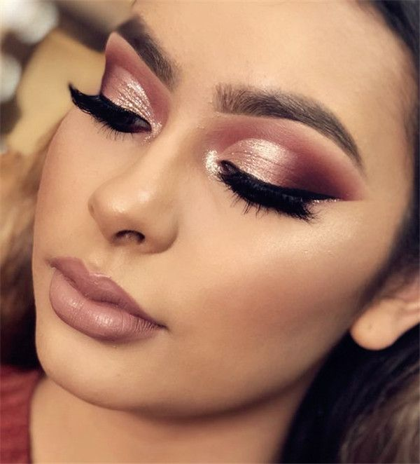 Top 15 Gorgeous Makeup Ideas Inspired by Rose Gold - BelliaBox .