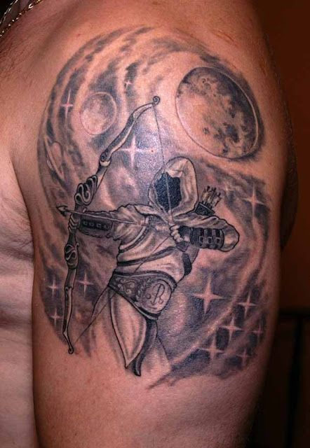 Sagittarius Tattoos for Men | Sagittarius tattoo, Tattoos for guys .