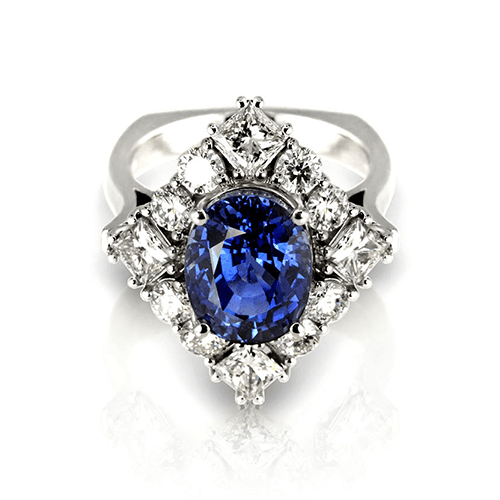 Natural Sapphire Ring - Jewelry Desig