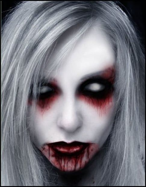 Scary Halloween Makeup | 20 Scary Halloween Makeup Ideas for .