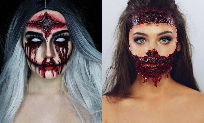 43 Scary Halloween Makeup Ideas for 2019 | StayGl