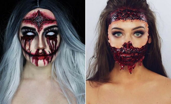 23 Scary Halloween Makeup Ideas for 2018 | Page 2 of 2 | StayGlam .