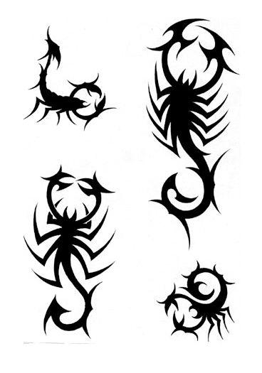 scorpio tattoos simple | Scorpion tattoo, Tribal tattoos, Tattoo .