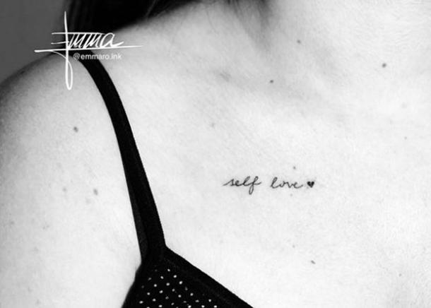 25 Self-Love Tattoos With Deep Meanings To Remind You To Love .