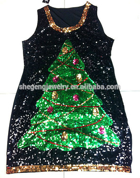 Christmas Tree Sequin Dre