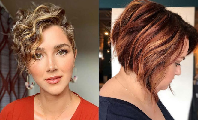 21 Short Hair Highlights Ideas for 2020 | StayGl
