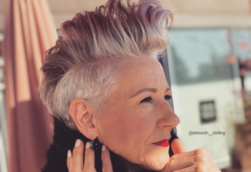 40 Cute & Youthful Short Hairstyles for Women Over