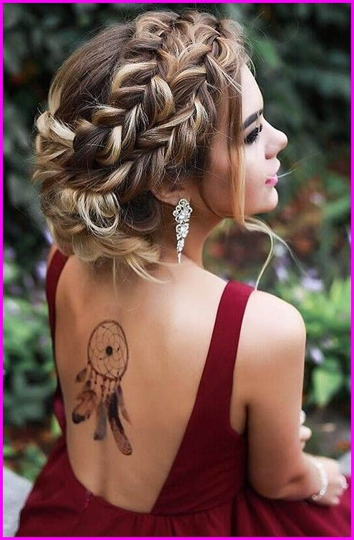 20 Short Prom Updo Hairstyles, … | Prom hairstyles for long hair .