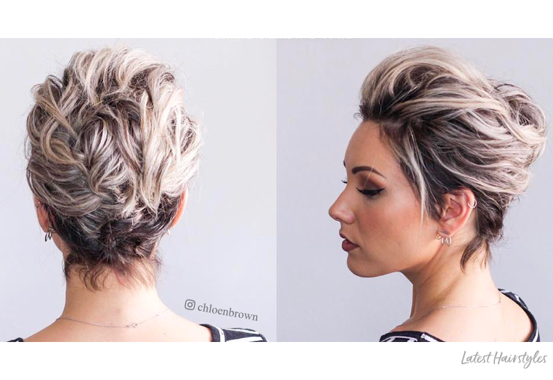1 Prom Hairstyle for Short Hair in 2020 Is Here (+17 Mor