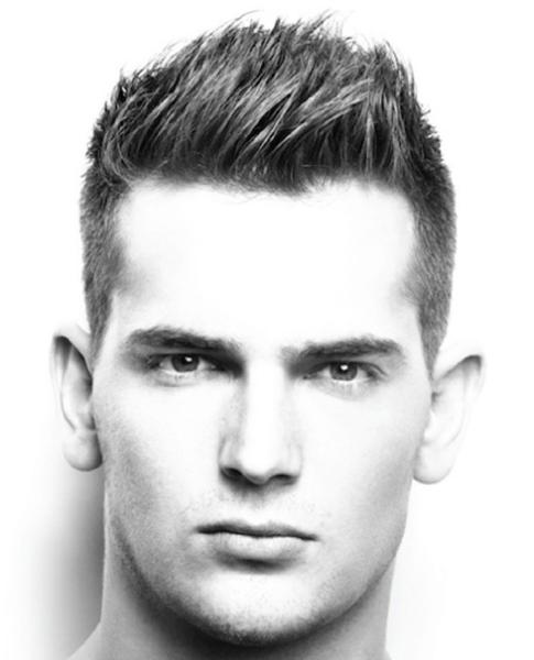 Short Quiff Hairstyle for Men | Trendy short hair styles, Mens .