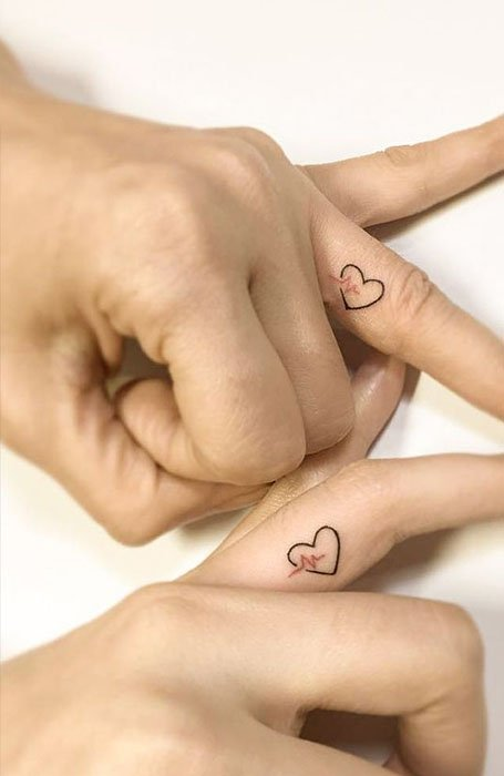 35 Matching Couple Tattoos to Inspire You - The Trend Spott