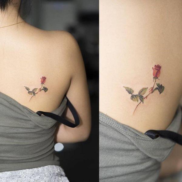 climbing rose | Subtle tattoos, Tattoos, Small rose tatt