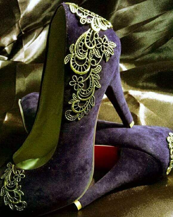 45 Smart DIY Shoe Makeover Ideas to Make Them All Anew   Shoe .