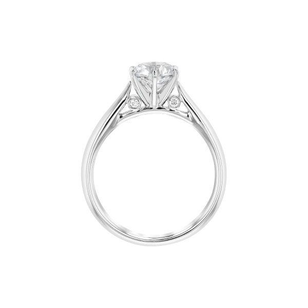 Designer Solitaire Engagement Ring 001-100-00550 | J. Thomas .