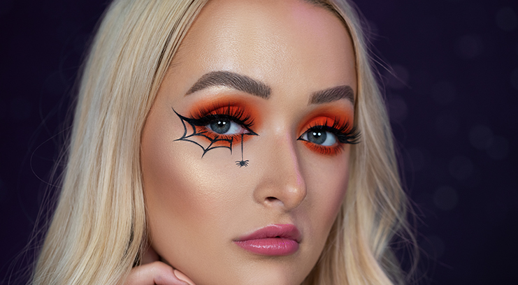 Get The Look: Spider Makeup For Halloween - Beauty Bay Edit