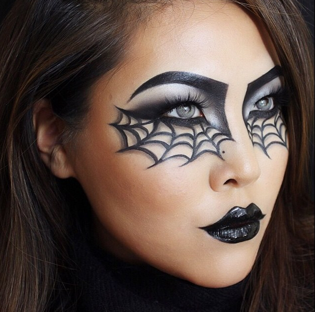 SPIDER EYES | Halloween eye makeup, Halloween makeup looks, Spider .