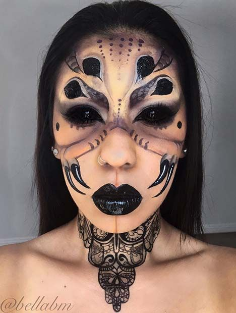 43 Scary Halloween Makeup Ideas for 2019 | Page 2 of 4 | StayGlam .