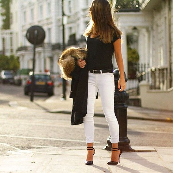 70+ Spotless White Jeans Outfit Ideas and Styling Tips | How to .