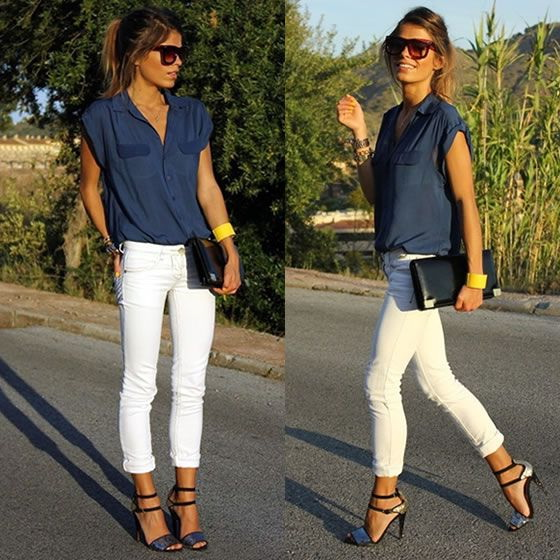 70+ Spotless White Jeans Outfit Ideas and Styling Ti