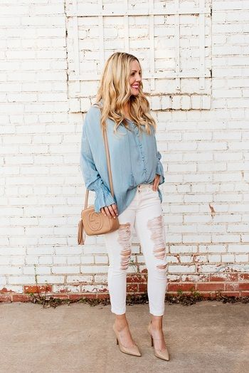 70+ Spotless White Jeans Outfit Ideas and Styling Tips | Casual .