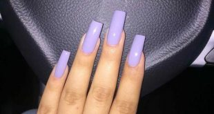 62 Stunning Long Square Nail Designs You Have to Try #acrylicnails .