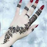 Stunning Back Hand Henna Designs