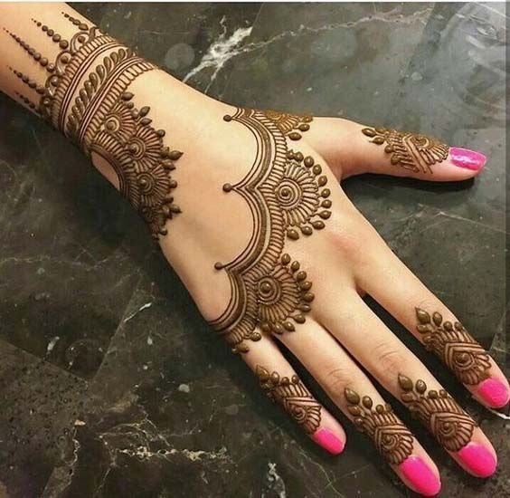 Beautiful Back Hand Mehndi art | Mehndi designs 2018, Mehndi .
