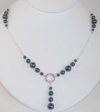 www.BestBuyBeads.com - Stunning Necklace in Swarovski Tahitian .