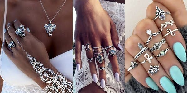 Stunning Jewelry Ideas for Pretty Boho Hands! | Jewelry, Stunning .