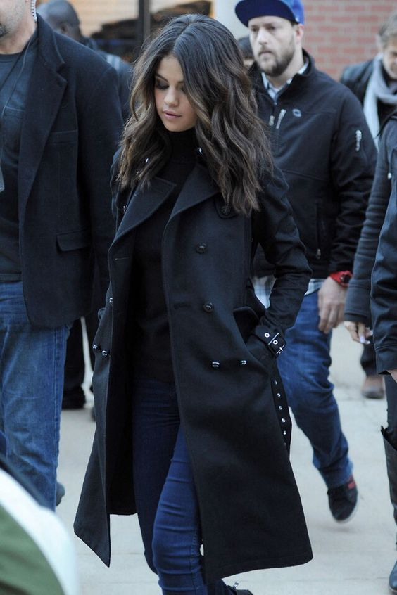 Trench Coat Outfits Women-19 Ways to Wear Trench Coats this Winter .