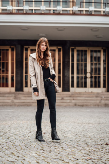 Wearing a trenchcoat in winter? || Fashionblog Berlin || Winter Outf