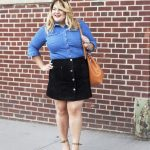 Stylish Button Front Skirt Outfits