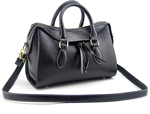 Amazon.com: Mn&Sue Stylish Women Top Handle Doctor Purse Satchel .