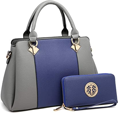 Amazon.com: Women's Fashion Leather Handbags Satchel Stylish .