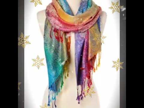 Latest Scarf Style & Design 2019 // New Design Scarf 2019 .