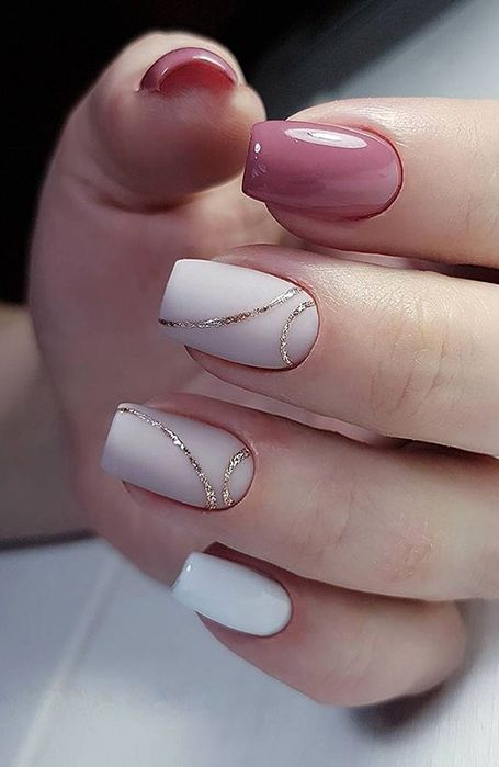 20 Cute Summer Nail Designs for 2020 in 2020 | Wedding nail art .