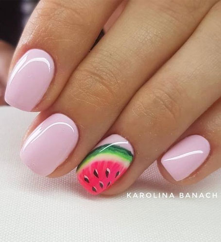 Cute summer nail designs for 2020 - Fab Wedding Dress, Nail art .
