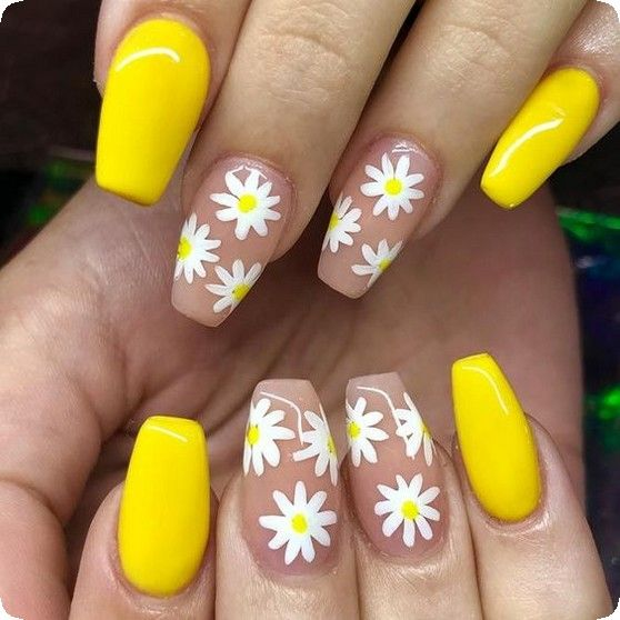 20 Fresh and Cute Summer Nail Designs for 2019 - Page 19 of 20 .
