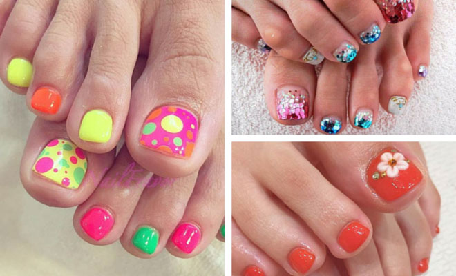 51 Adorable Toe Nail Designs For This Summer | StayGl