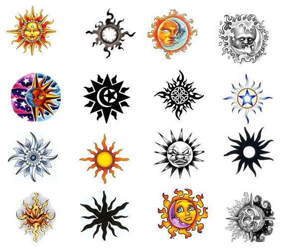 Sun Tattoo Design | Moon tattoo, Sun tattoo designs, Sun tatto