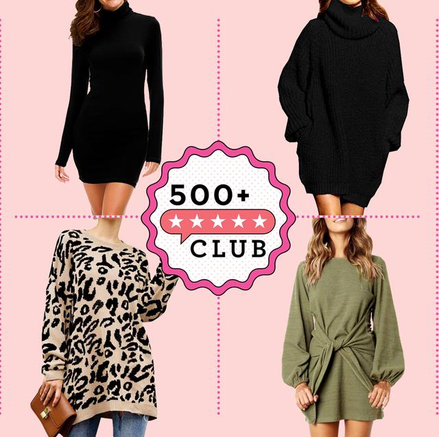 13 Best Sweater Dresses on Amaz