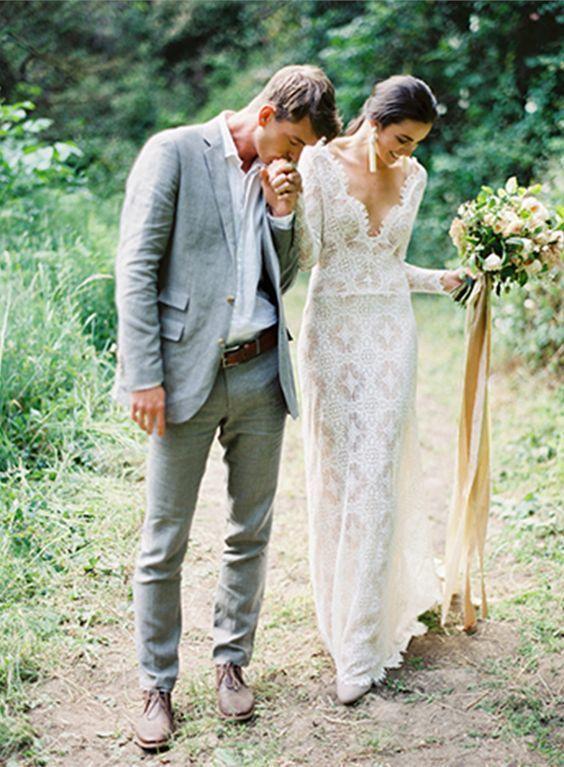 The Best Groom Attire for Summer Weddings - mywedding | Lace .