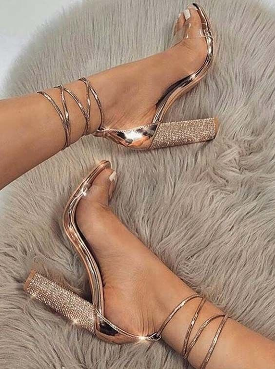 30 Fashionable High Heel Shoes Trends 2018 for Females | Shoes .
