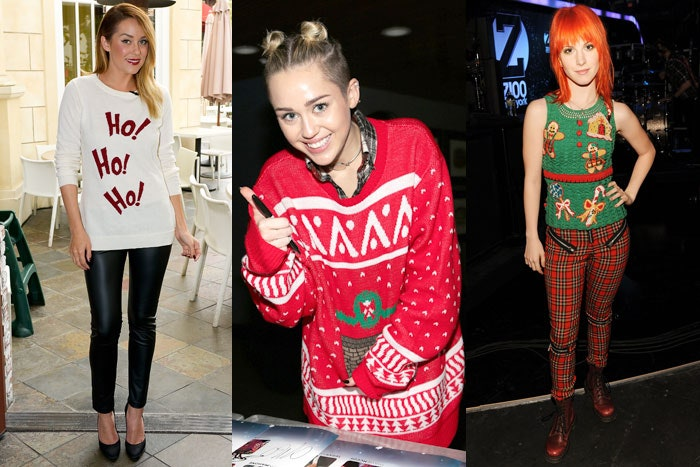 Somehow Ugly Christmas Sweaters Are Cool, and These Trendsetting .