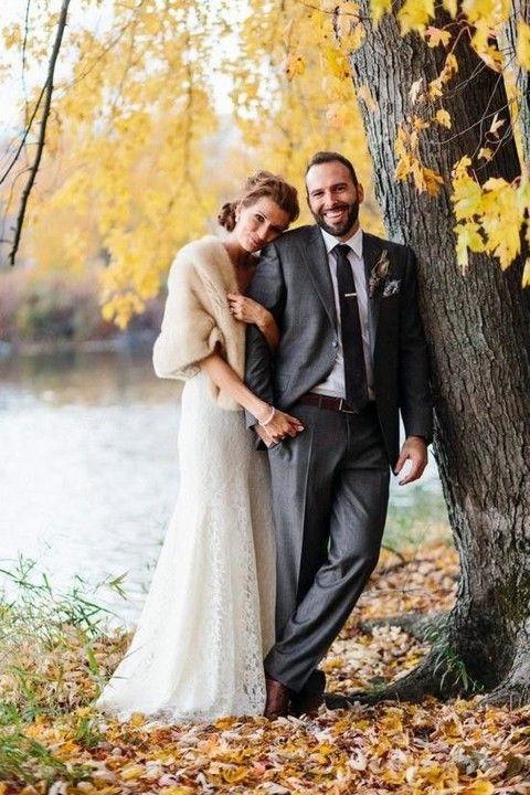 53 Fall Bridal Cover Ups, Capes And Shawls | Fall wedding .