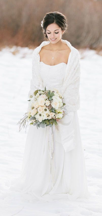 40+ Stylish Reasons to Have a Winter Wedding | Winter wedding .