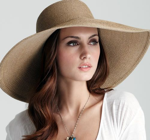 Hats for Women | ladies don't want to go for a 7 inch wide brim .