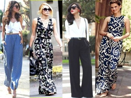 How to wear palazzo pants | Summer fashion outfits, Summer fashion .