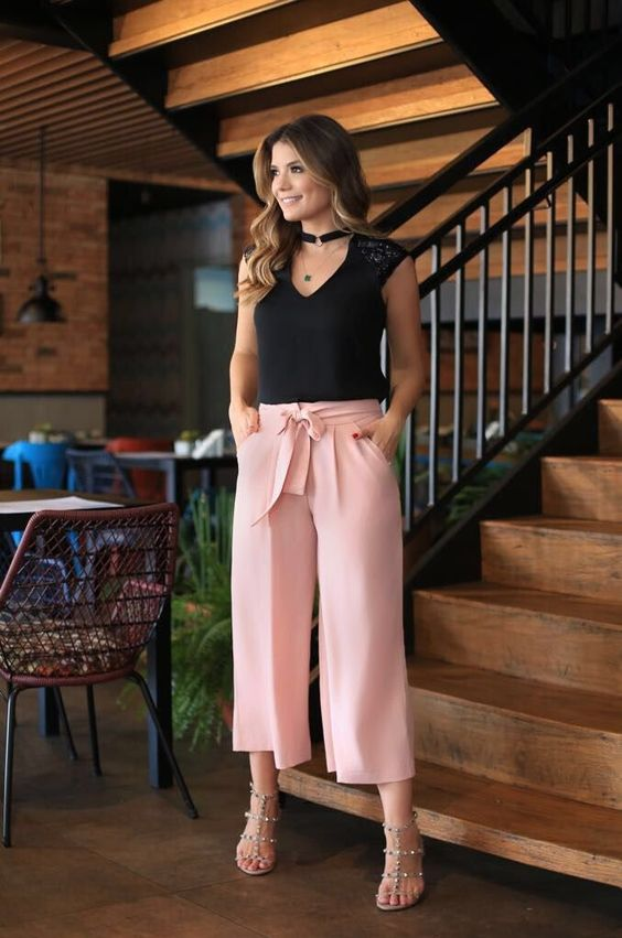 43 Trendy Ladies Summer Palazzo Styles and Designs to Upgrade Your .